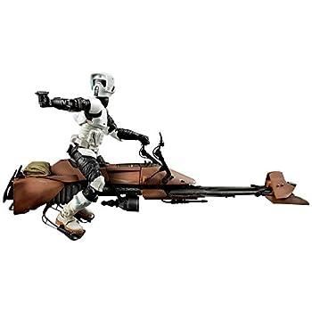 『STAR WARS』by HASBRO Die Handlung Figur /6inch 「BLACK」DX Series Scout trooper&speeder bike als Weihnachtsgeschenk