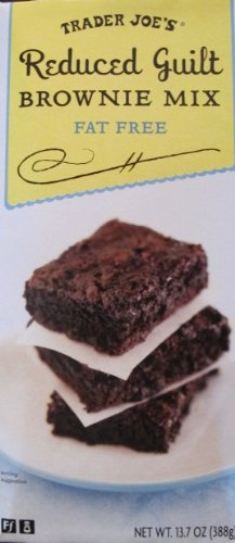 Trader Joe's Reduced Guilt Brownie Mix Fat Free Makes Brownies That Are Rich and Moist,with Deep Cocoa Flavor ,Without the Guilt