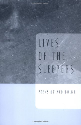 Lives Of The Sleepers (Ernest Sandeen Prize for Poetry)