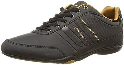 Kappa Lokity, Sneakers Basses femme, Noir (945/Black/Gold), 38 EU