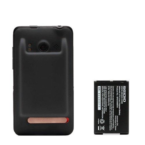 Seidio Innocell 3500 mAh Extended-Life Battery for HTC EVO 4G (Black)