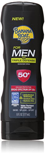 banana-boat-sunscreen-for-men-triple-defense-broad-spectrum-sun-care-sunscreen-lotion-spf-50-6-ounce