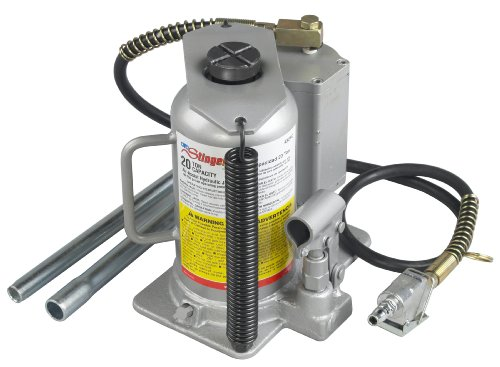 OTC 4321C 20 Ton Capacity Air-Assist Hydraulic Bottle Jack (20 Ton Air Jack compare prices)