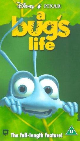 A Bug s Life  VHS   1999   A Bugs Life Vhs