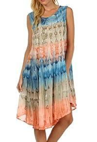 Sakkas Desert Sun Caftan Dress / Cover Up