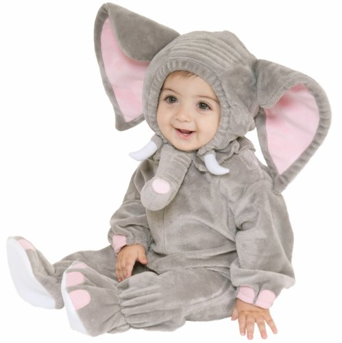Forum Infant Baby Boys Girls Elephant Halloween Costume 12-24 mo