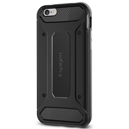 Spigen Neo Hybrid Carbon iPhone 6S Case with Carbon Fiber Design and Reinforced Hard Bumper Frame for iPhone 6S / iPhone 6 - Gunmetal (Carbon Iphone 6 Case compare prices)