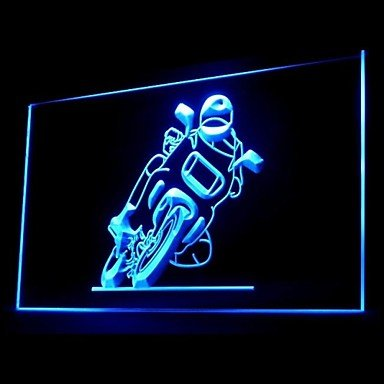 Motorcycle Electric Engine Advertising Led Light Sign