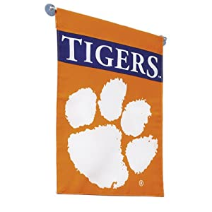 Buy NCAA Clemson Tigers 2-Sided Garden Flag by BSI