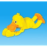 Plush Sling Shot Duck With Sound, Case Of 12