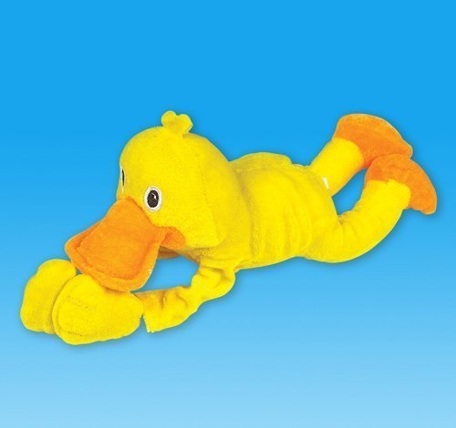Plush Sling Shot Duck With Sound, Case Of 24