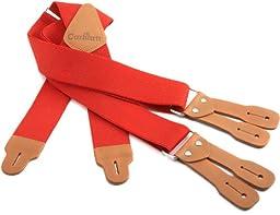 Carhartt Men\'s Dungaree Suspender,Red,One Size