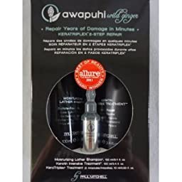 Awapuhi Wild Ginger KeraTriplex 2-Step Repair Hair Set Shampoo Keratin Treatment by PAUL MITCHELL [Beauty]