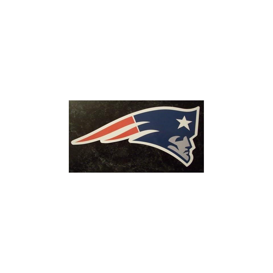 New England Patriots Team Logo NFL Car Magnet