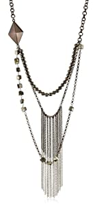 """Fiona Paxton """"A New Season A New Start"""" Rio Necklace with Hematite"""