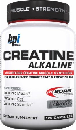 Bpi Sports - Creatine Alkaline, 120 Capsules