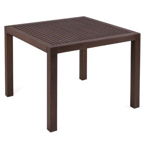 MBM 72.00.0101 Tisch Resysta 90 x 90, gelattet siam günstig online kaufen