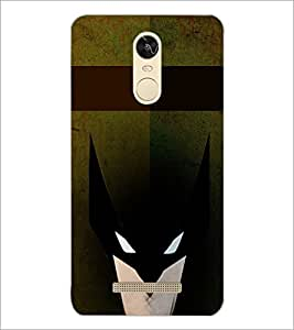 PrintDhaba Mask D-6075 Back Case Cover for XIAOMI REDMI NOTE 3 (MEDIA TEK) (Multi-Coloured)