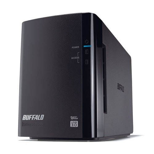 Buffalo DS Duo Hard-Disk Esterno, 4 TB
