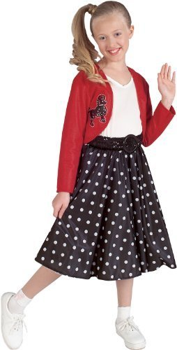 Girls (Polka Dot Rocker Child Costumes)