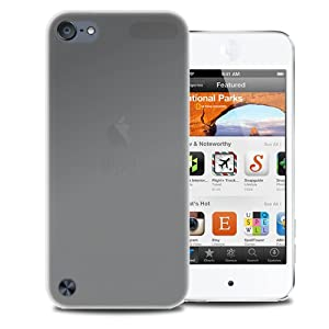 KaysCase Slim Soft Skin Cover Case for Apple iPod Touch 5 5th Generation (Frost Clear)