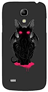 Dazzling 3D multicolor printed protective REBEL mobile back cover for Samsung Galaxy S4-Mini - D.No-DEZ-1014-s4m