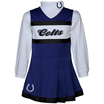 Reebok Indianapolis Colts Toddler (2T-4T) Cheer Uniform 4T