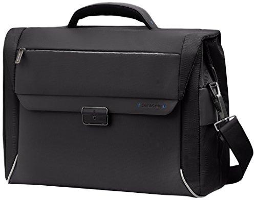 "Samsonite Cartella Spectrolite Briefcase 2 Gussets 16"" 22 liters Nero (Black) 55691-1041"