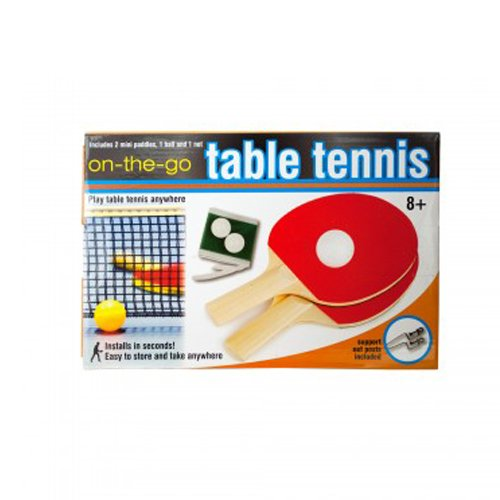 Portable Table Tennis Set (Ping Pong on the Go)