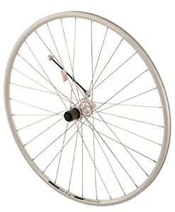 Sta-Tru Silver Shimano 2200 8-9-10 Speed Cassette Hub Rear Wheel (700X20)