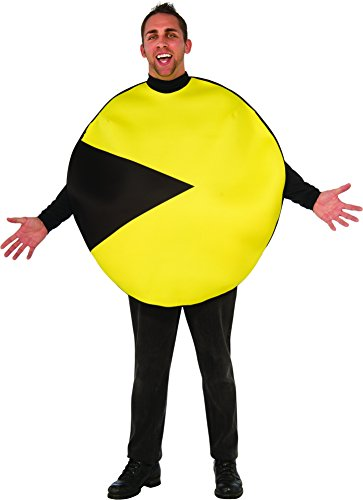 Official Men's Pacman Costume for up to 46 inch chest