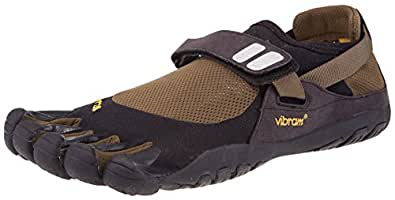 Vibram Fivefingers Men's Treksport (40 M EU, Black/Green/Black)
