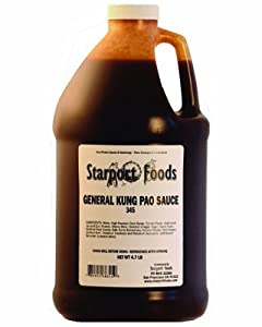 General Kung Pao Sauce - 1/2 Gallon, Net Wt. 4.7 Lbs. Gluten Free by Starport Foods, LLC