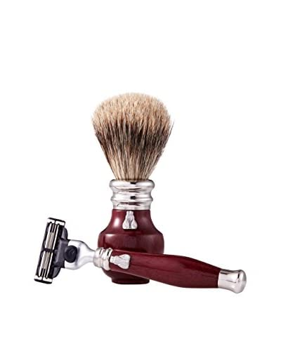 Laguiole en Aubrac Juniper Wood Shaving Set