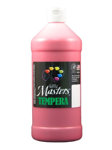 Little Masters by Rock Paint 203-720 Tempera Paint, 1, Red, 32-Ounce