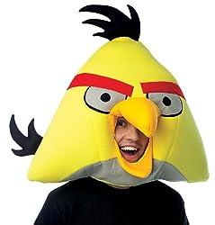 Rovio Angry Birds - Yellow Angry Bird Mask Rovioの怒っている鳥-イエローアングリーバードマスク♪ハロウィン♪サイズ:One-Size