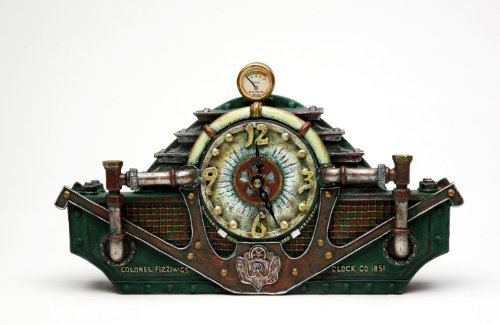 Steampunk Table Clock