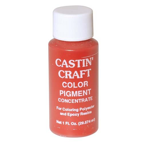 CASTIN CRAFT Casting Epoxy Resin Opaque Red Pigment Dye 1 Oz (Epoxy Resin Craft compare prices)
