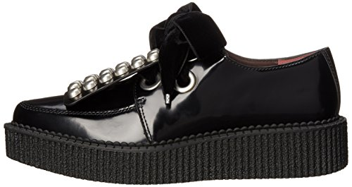 pictures of Marc by Marc Jacobs Women's Berry Show-Creeper W/Studs Oxford, Black, 38.5 EU/8.5 M US
