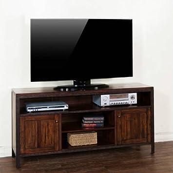 """Sunny Designs Crosswinds TV Console, 60"""""""