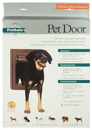 Buy Petsafe TWL-11 Pet Door-Large White