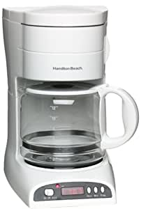 Amazon.com: Hamilton Beach 49281 Aroma Express Coffeemaker with Removable Water Reservoir and ...
