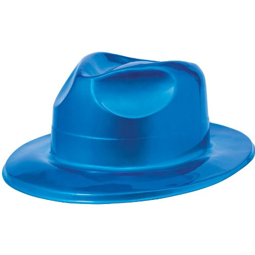 Disco Fever Blue Fedora