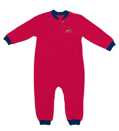 St. Louis Cardinals Toddler Fleece Sleeper Creeper at Amazon.com