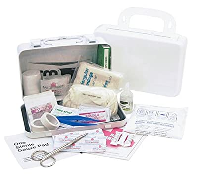 Medique 821M10P 10-Person Metal First Aid Kit by Medique Products