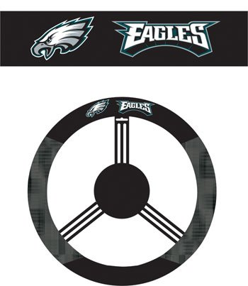 Philadelphia Eagles Steering Wheel Cover from NEOPlex at Amazon.com