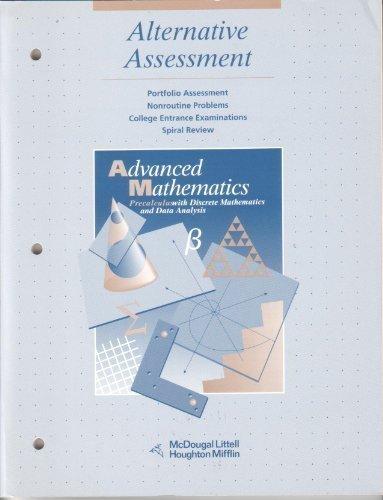 McDougal Littell Advanced Math: Alternative Assessment