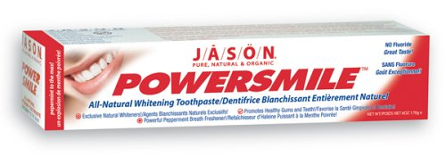 Jason PowerSmile Toothpaste, Peppermint, 6-Ounce