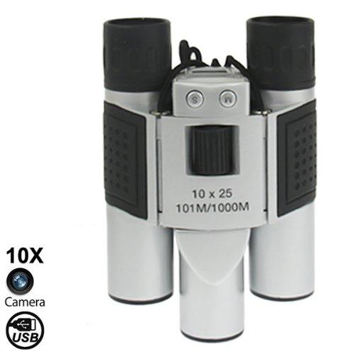 Generic 10¡Ñ25Mm Digital Camera Binoculars, Field Of View: 101M/1000M, Size: 124 ¡Ñ 91 ¡Ñ 62Mm