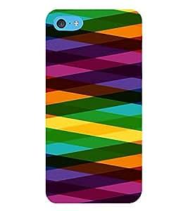 HiFi Designer Phone Back Case Cover Apple iPhone 6 Plus :: Apple iPhone 6+ ( Colorful Pattern Design )